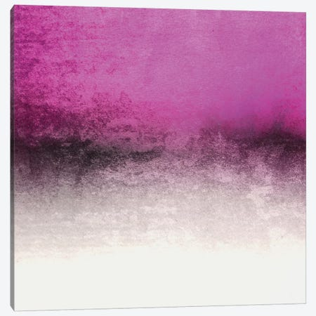 Snowdreamer - HotPink Canvas Print #GEL68} by Monika Strigel Art Print