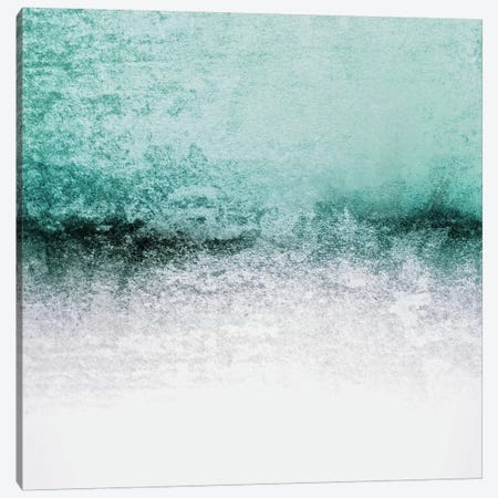Snowdreamer - Seafoam Canvas Print #GEL70} by Monika Strigel Canvas Art