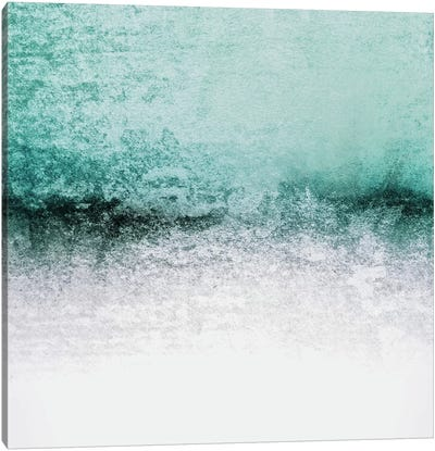 Snowdreamer - Seafoam Canvas Art Print