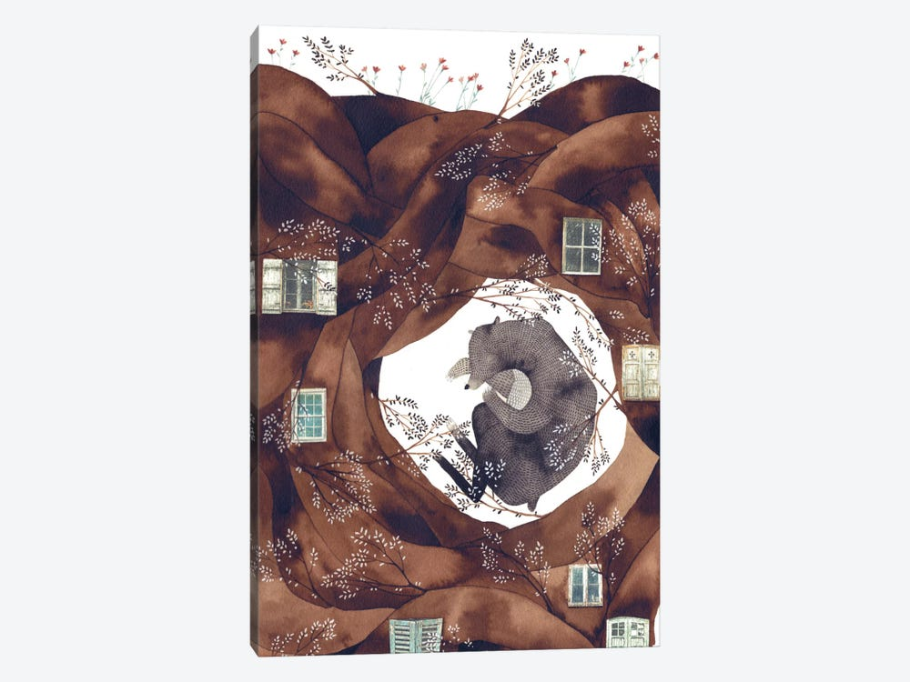 Forest Bear 1-piece Art Print