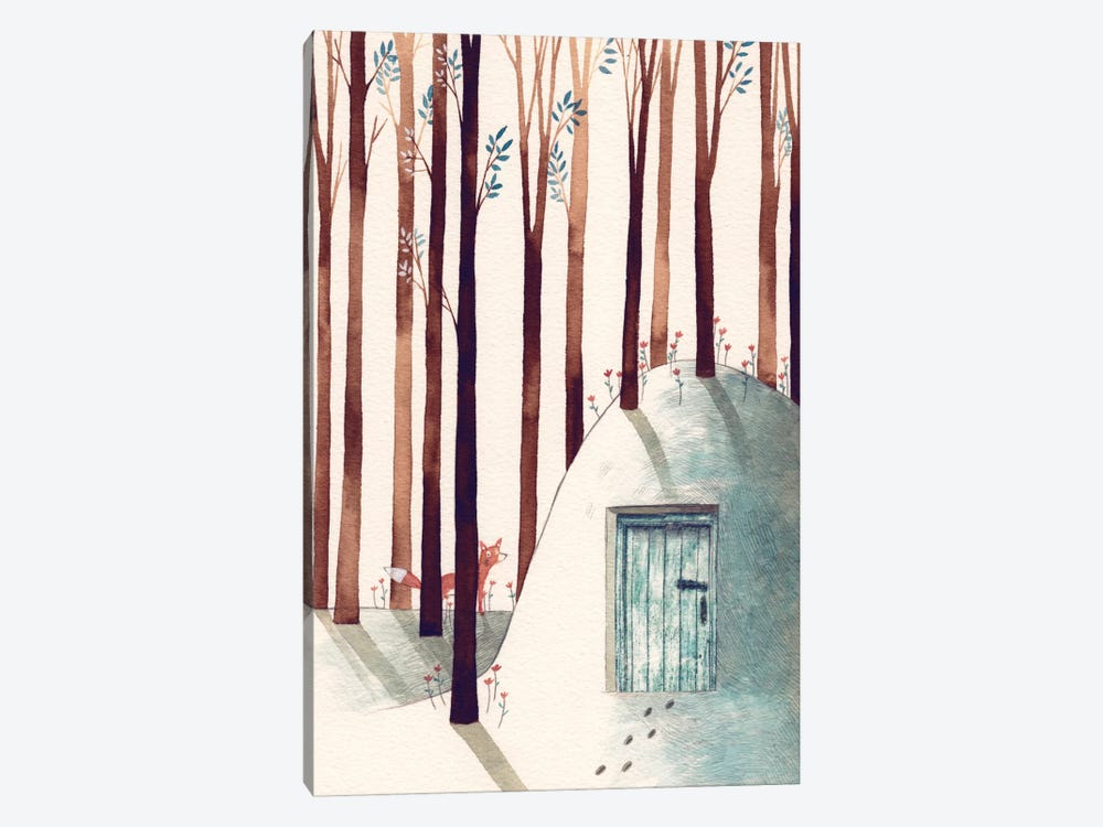 Forest Fox 1-piece Art Print