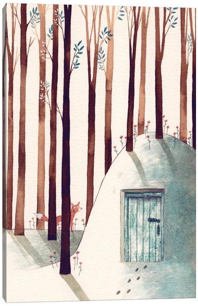 Forest Fox Canvas Art Print
