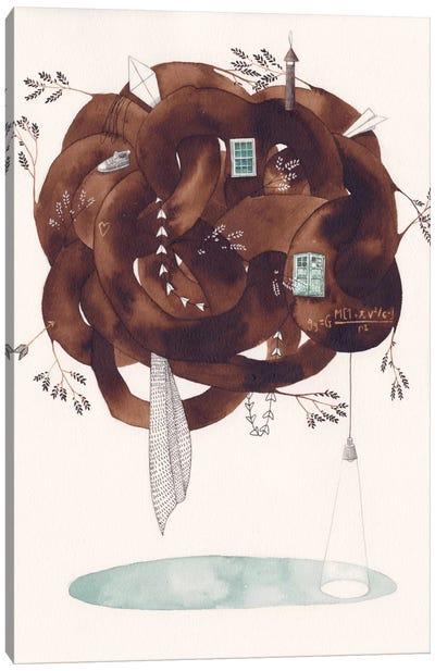 House Canvas Print #GEM14