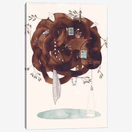 House Canvas Print #GEM14} by Gemma Capdevila Canvas Art