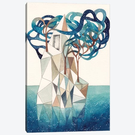 Iceberg II Canvas Print #GEM15} by Gemma Capdevila Canvas Artwork