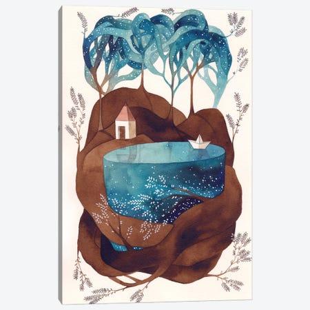 Island I Canvas Print #GEM18} by Gemma Capdevila Canvas Print