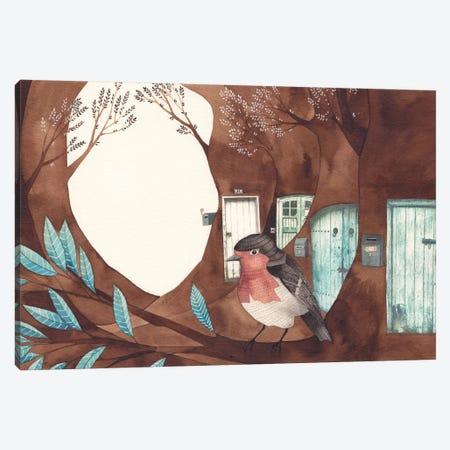 Robin Canvas Print #GEM25} by Gemma Capdevila Canvas Art Print