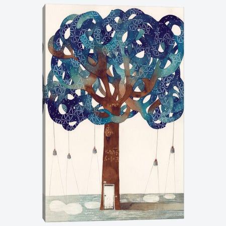 Star Canvas Print #GEM27} by Gemma Capdevila Art Print