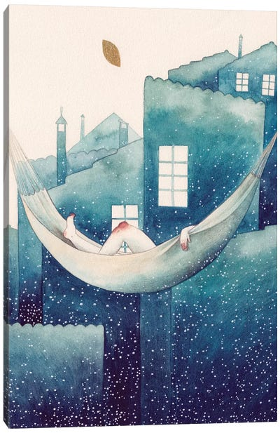 Summer Night Dream Canvas Art Print