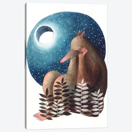Sweet Monster I Canvas Print #GEM29} by Gemma Capdevila Canvas Art