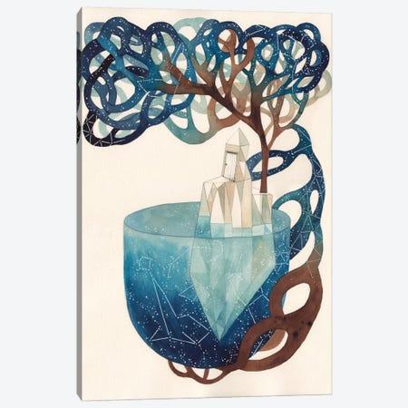 Blue Universe Canvas Print #GEM2} by Gemma Capdevila Canvas Art