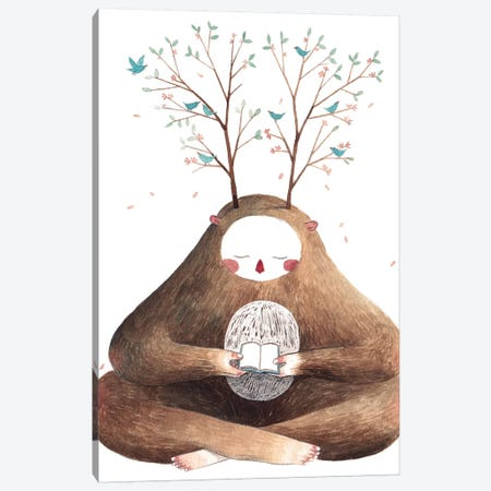 Sweet Monster II Canvas Print #GEM30} by Gemma Capdevila Art Print