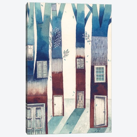 Tree House Canvas Print #GEM31} by Gemma Capdevila Art Print