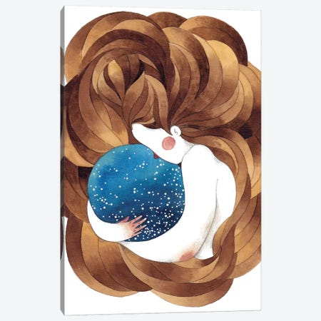 Universe Canvas Print #GEM32} by Gemma Capdevila Canvas Print