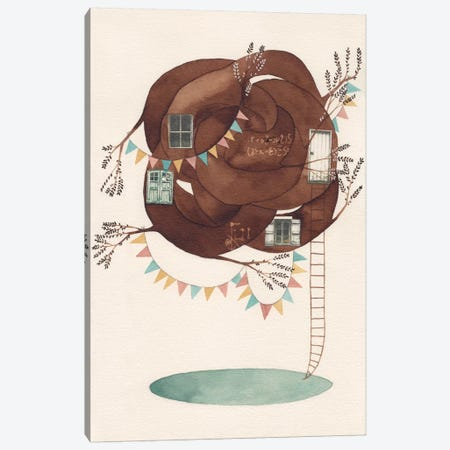 Wonderful Mind I Canvas Print #GEM34} by Gemma Capdevila Canvas Artwork