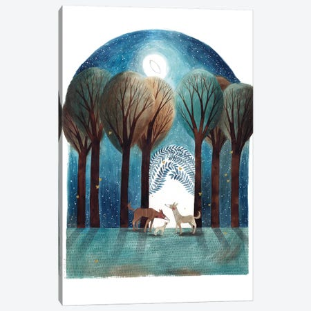 Elna Canvas Print #GEM35} by Gemma Capdevila Canvas Art