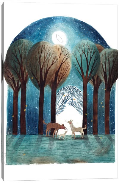 Elna Canvas Art Print