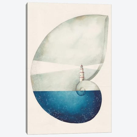 Far De Ses Salines Canvas Print #GEM36} by Gemma Capdevila Canvas Artwork