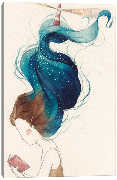 Núria Profitós Canvas Art Print