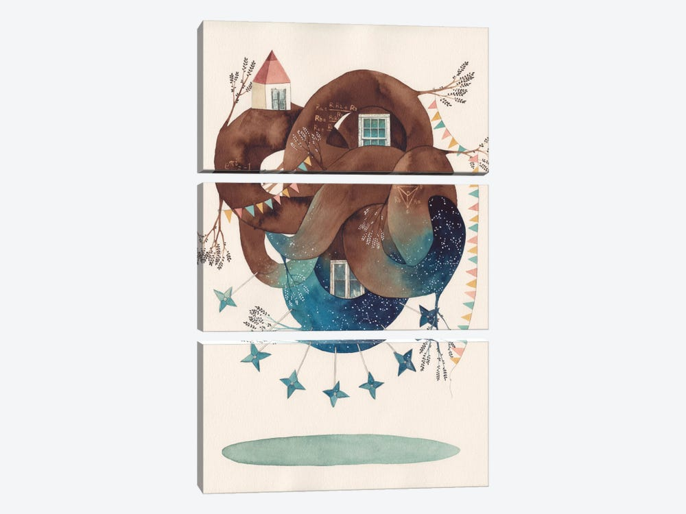 Delta Star by Gemma Capdevila 3-piece Art Print
