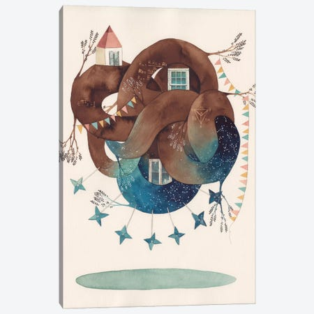 Delta Star Canvas Print #GEM7} by Gemma Capdevila Canvas Art Print