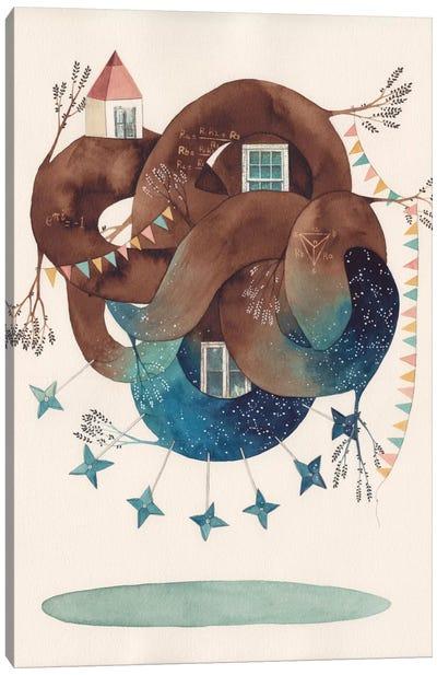 Delta Star Canvas Art Print