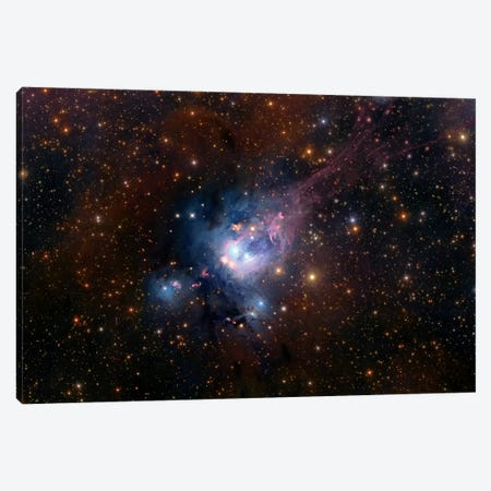 Stellar Nursery (NGC 7129) Canvas Print #GEN102} by Robert Gendler Canvas Art Print