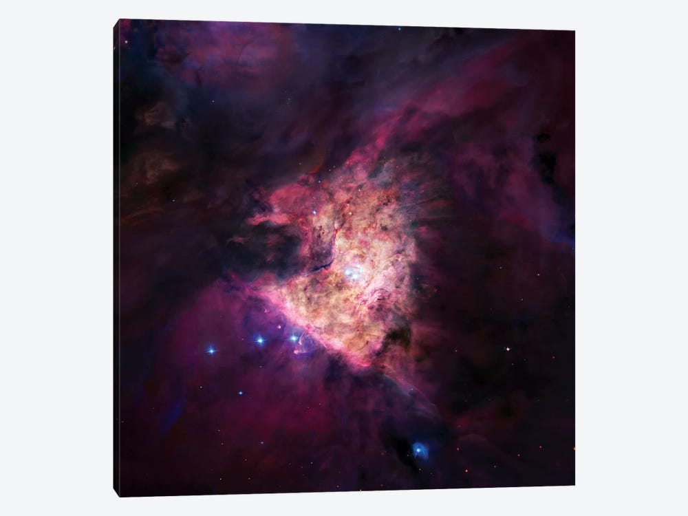 The Center Of The Orion Nebula (The Trapezium Cluster) Mosaic by Robert Gendler 1-piece Canvas Art