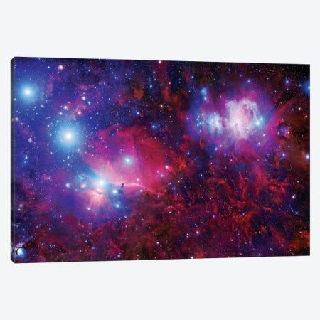 The Orion Deepfield Mosaic Canvas Print #GEN110} by Robert Gendler Canvas Artwork