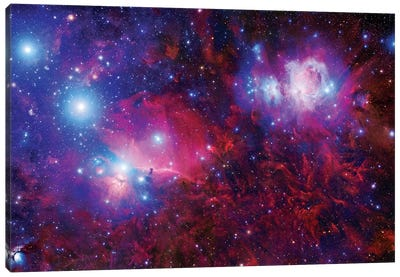 The Orion Deepfield Mosaic Canvas Art Print