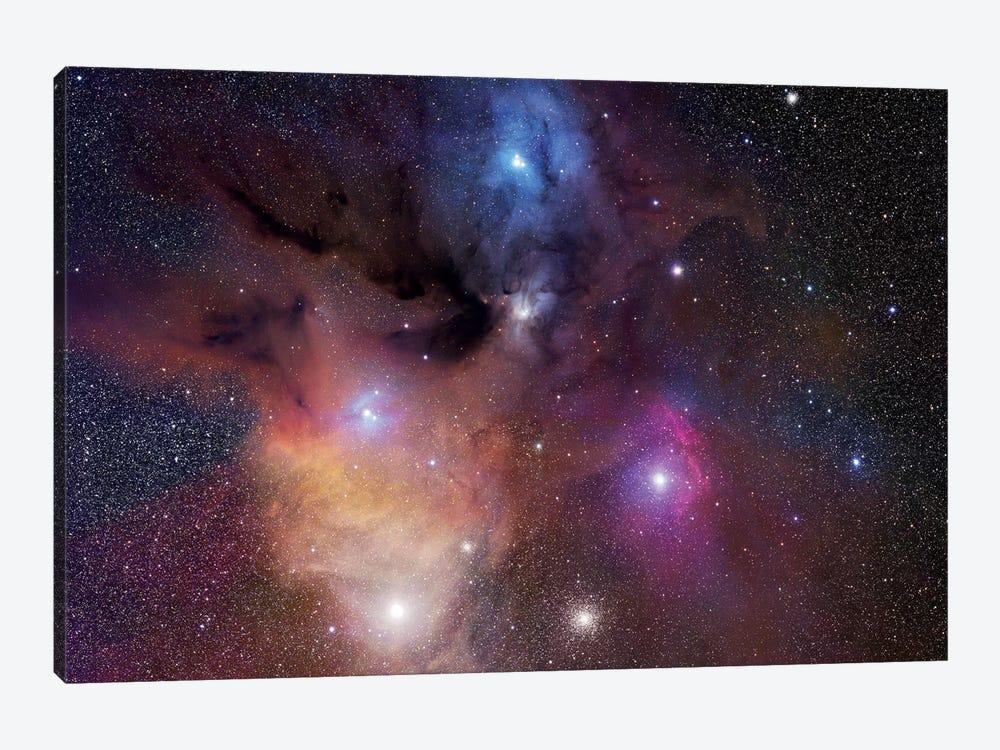 The Rho Ophiuchi Nebula Mosaic by Robert Gendler 1-piece Canvas Wall Art