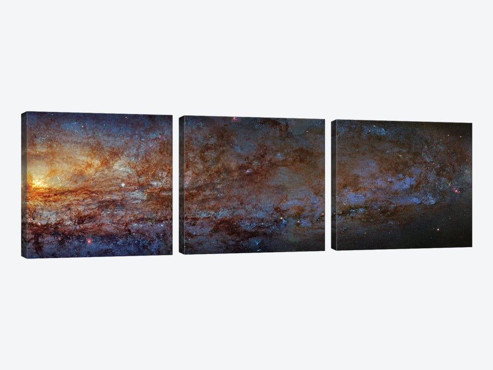 The Sculptor Galaxy (NGC 253) I by Robert Gendler 3-piece Art Print