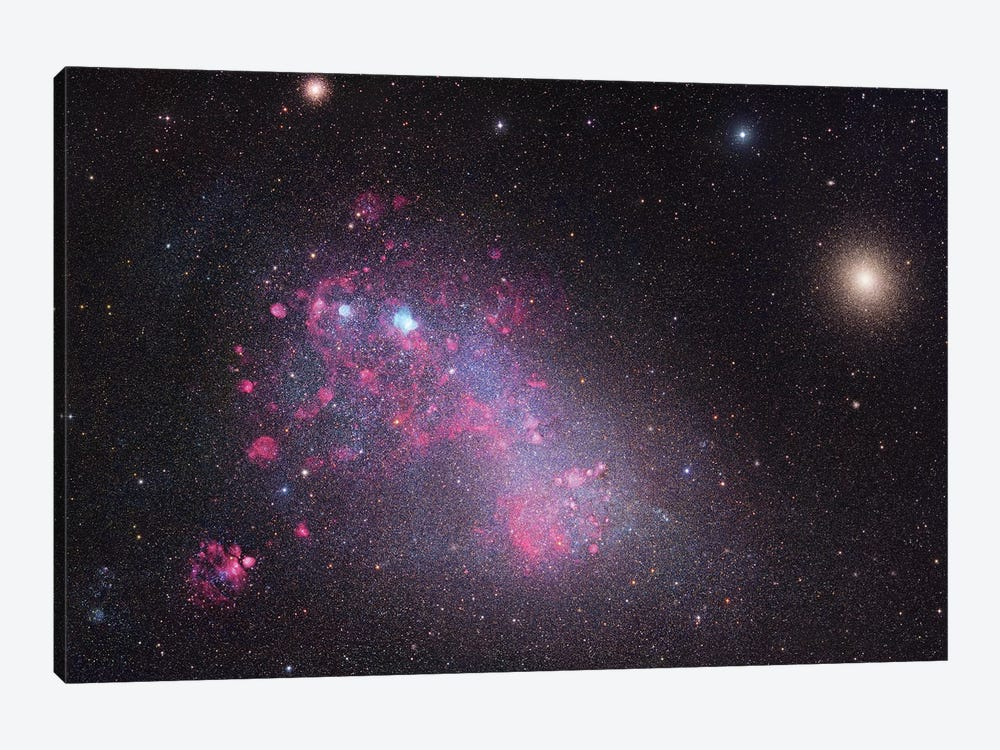 The Small Magellanic Cloud (NGC 292) by Robert Gendler 1-piece Canvas Print