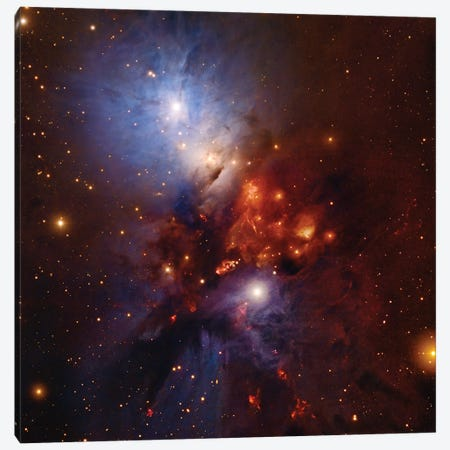 Complex Nebula In Perseus (NGC 1333) Canvas Print #GEN11} by Robert Gendler Canvas Artwork