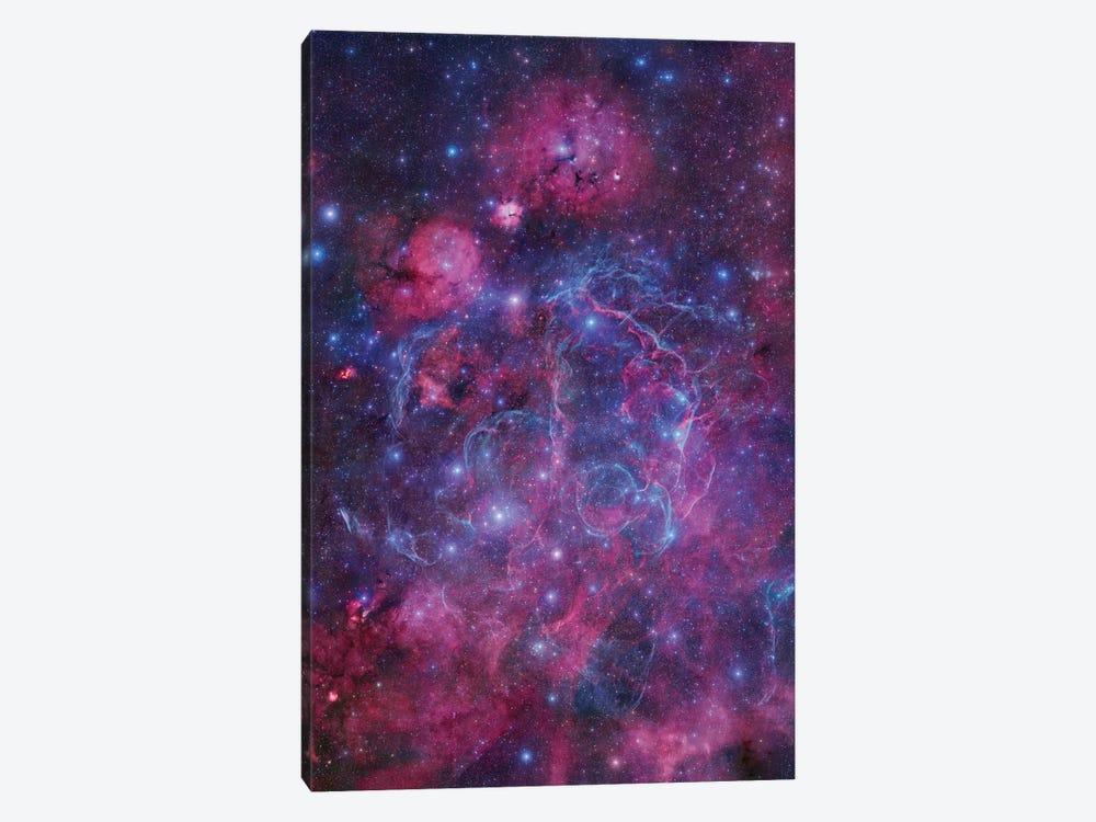 Vela Supernova Remnant Mosaic I by Robert Gendler 1-piece Canvas Artwork
