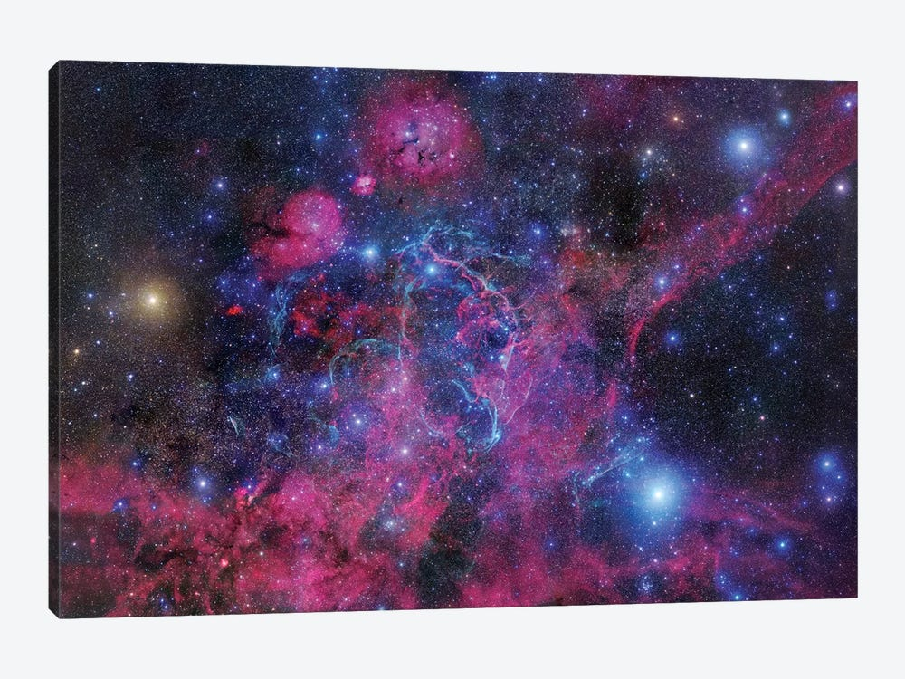Vela Supernova Remnant Mosaic II by Robert Gendler 1-piece Canvas Print