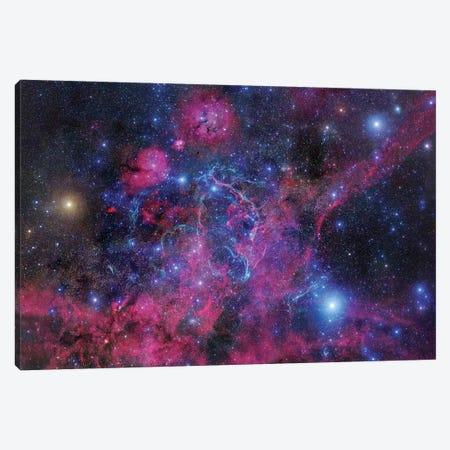 Vela Supernova Remnant Mosaic II Canvas Print #GEN125} by Robert Gendler Canvas Wall Art