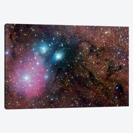 Complex Nebula In Sagittarius (NGC 6589) Canvas Print #GEN12} by Robert Gendler Canvas Artwork