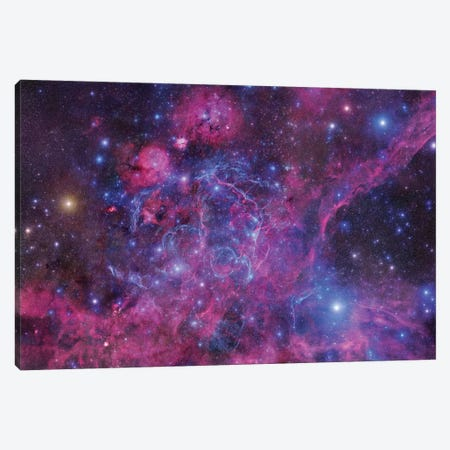 The Vela Supernova Remnant Canvas Print #GEN139} by Robert Gendler Canvas Artwork