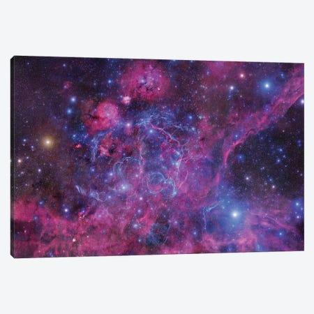 The Vela Supernova Remnant Canvas Print #GEN139} by Robert Gendler Canvas Artwork
