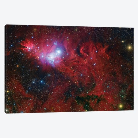 Cone Nebula Mosaic Canvas Print #GEN13} by Robert Gendler Canvas Wall Art