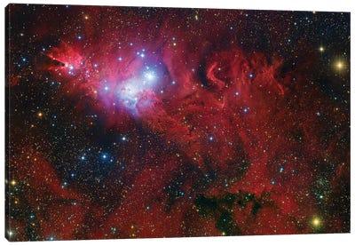 Cone Nebula Mosaic Canvas Art Print