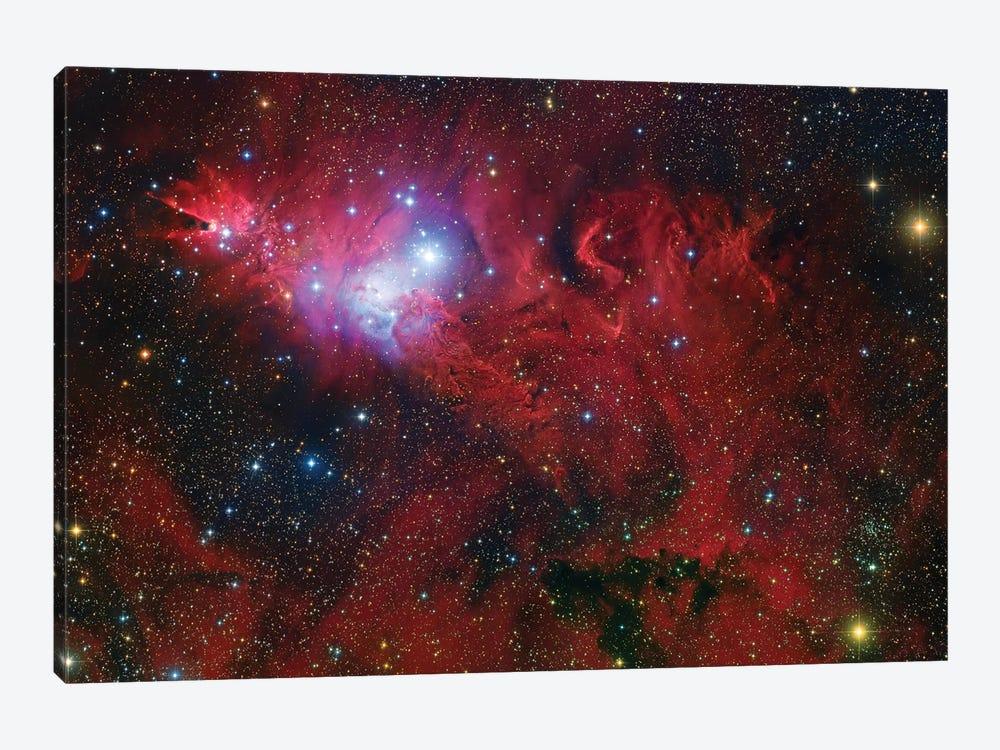 Cone Nebula Mosaic by Robert Gendler 1-piece Canvas Art