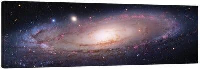 M31, Andromeda Galaxy  VII Canvas Art Print