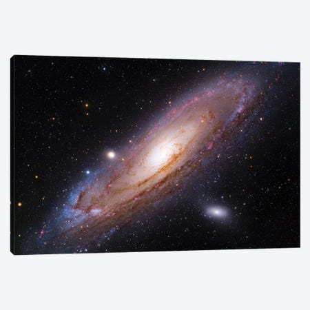 The Andromeda Galaxy (M31) Canvas Print #GEN156} by Robert Gendler Canvas Art Print