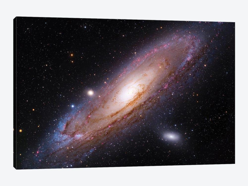The Andromeda Galaxy (M31) by Robert Gendler 1-piece Canvas Art Print