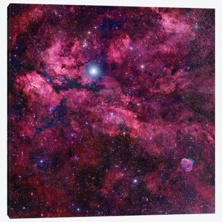 Cygnus Mosaic II Canvas Print #GEN16} by Robert Gendler Art Print