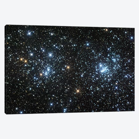 Double Cluster Canvas Print #GEN18} by Robert Gendler Canvas Art
