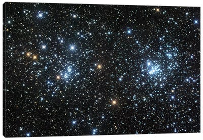 Double Cluster Canvas Art Print