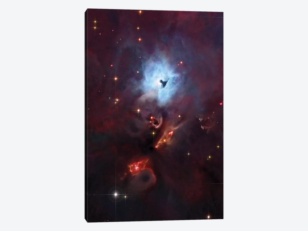 Emission & Reflection Nebula In Orion (NGC 1999) I by Robert Gendler 1-piece Canvas Wall Art